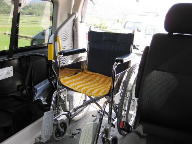 車椅子の方にもご利用頂けます。